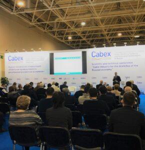 Представители МК-Полимер на выставке Cabex в Москве
